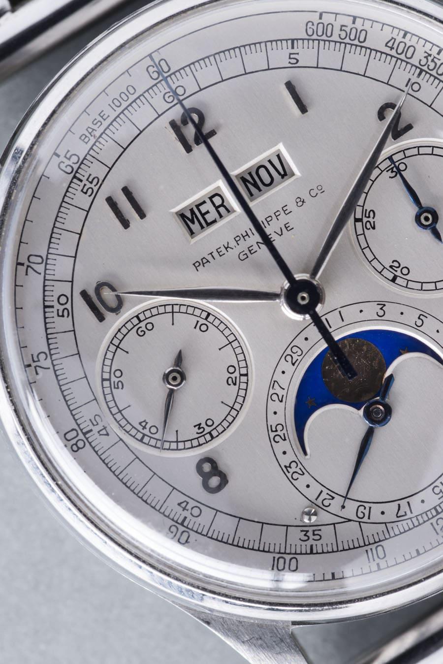 Patek Philippe: Der Chronograph mit der Referenz 1518 verfügt über einen ewigen Kalender
