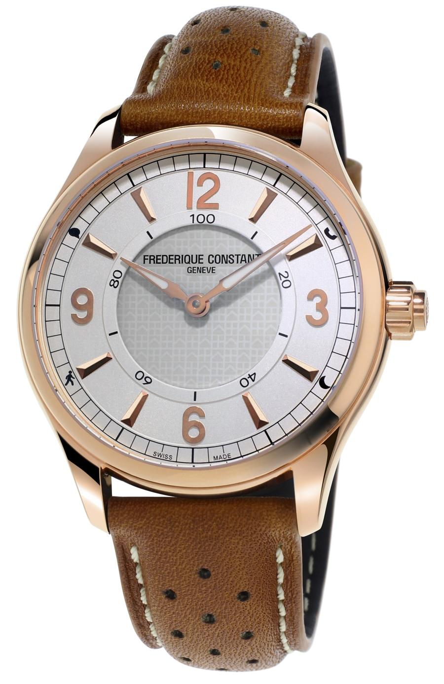 Frédérique Constant: Horological Smartwatch mit roségold plattiertem Gehäuse