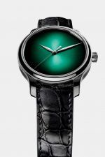 H. Moser & Cie.: Endeavour Centre Seconds Concept Cosmic Green in Weißgold