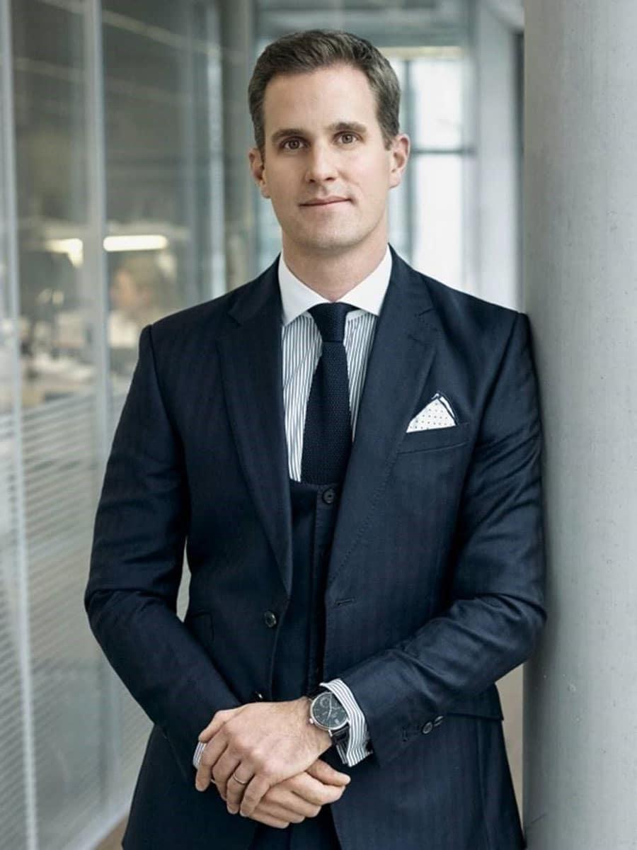 Neuer CEO von IWC Schaffhausen: Chris Grainger-Herr