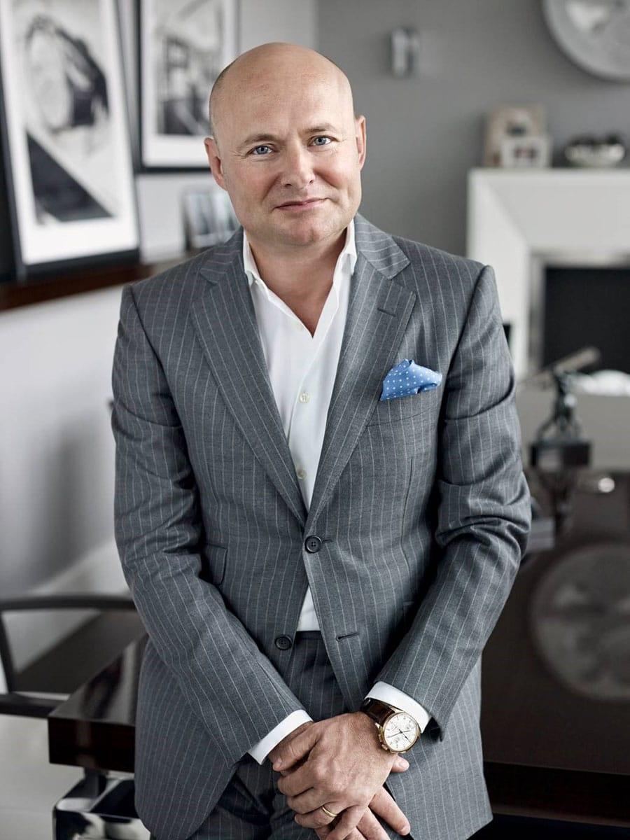 Übergibt die IWC-Geschäfte zum 01. April 2017 an Chris Grainger-Herr: Georges Kern