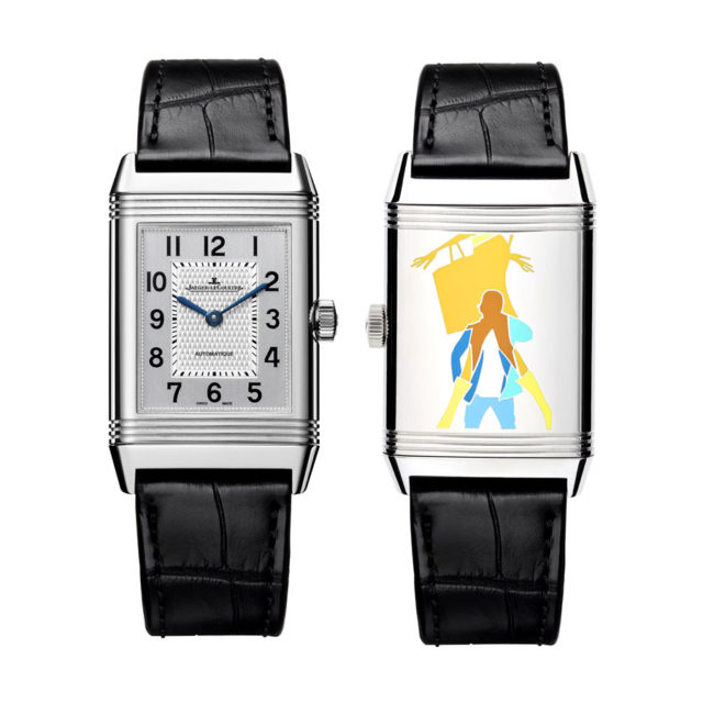 "Jaeger-LeCoultre: Reverso meets Popart ""Time for Shopping"""