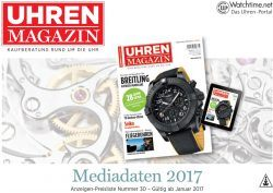 UHREN-MAGAZIN Mediadaten 2017