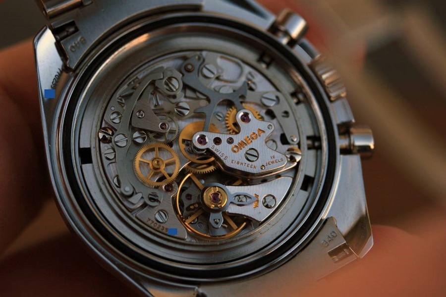 Das Lemania-Chronographenkaliber der Omega Speedmaster Professional Moonwatch