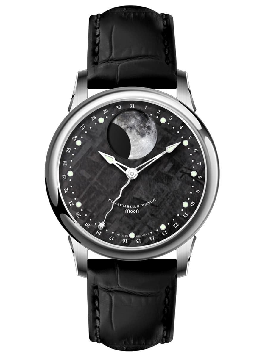 Schaumburg Watch: Grand Perpetual Moon Meteorite