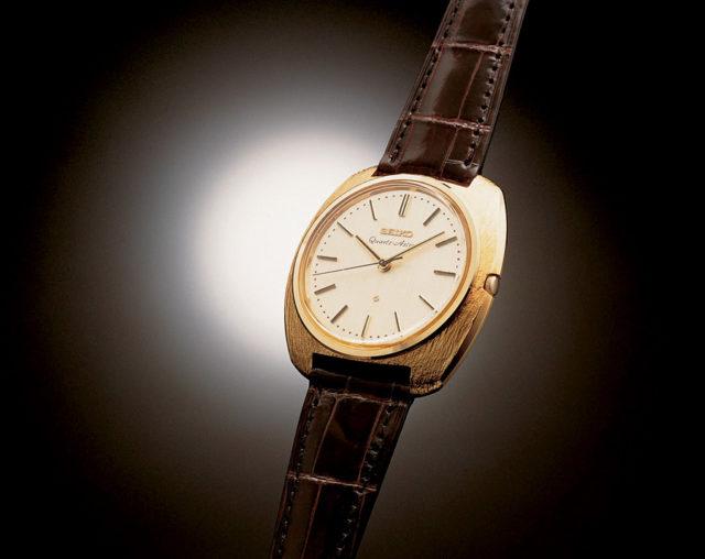 Astron: Die erste serienreife Quarz-Armbanduhr kam 1969 von Seiko.