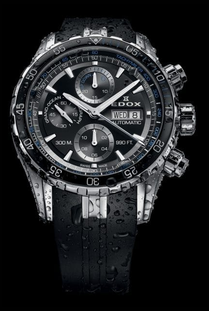 Edox: Grand Ocean Automatic Chronograph
