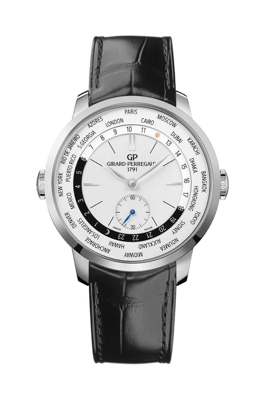 Girard-Perregaux: 1966 WW.TC in Edelstahl