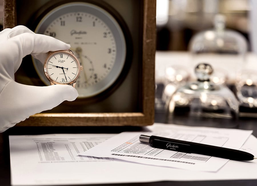 Glashütte Original: 24-Stunden-Lagenprüfung