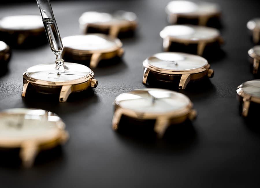 Glashütte Original: Prüfung Wasserdichtigkeit