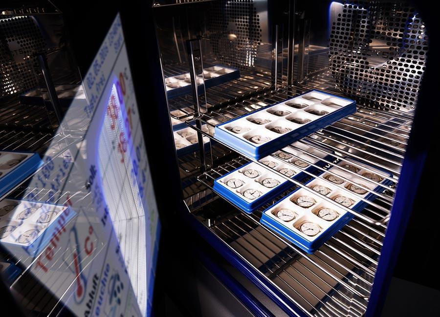 Glashütte Original: Messen der Temperaturunabhängigkeit
