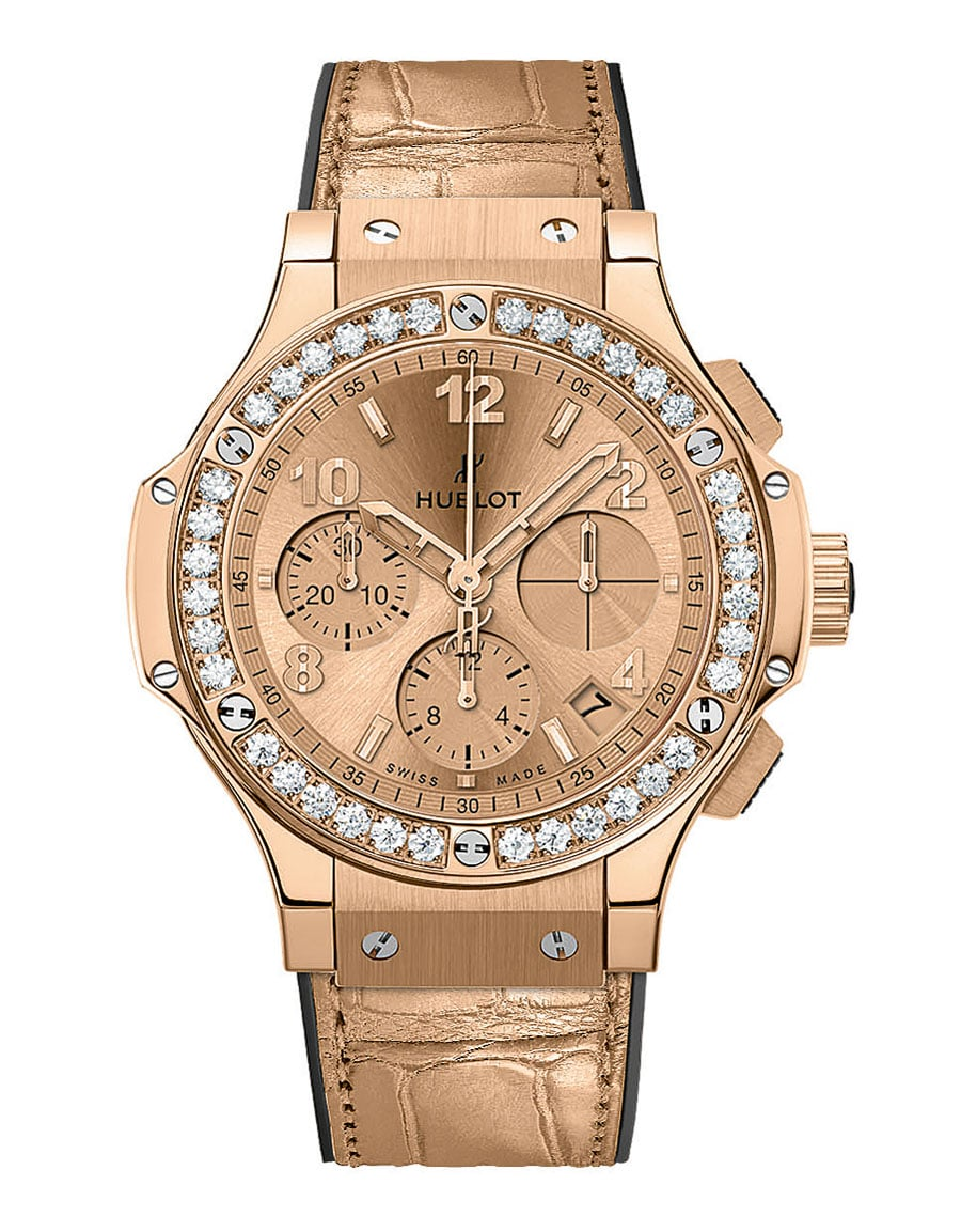 Hublot: Big Bang Monochrome Gold Diamonds