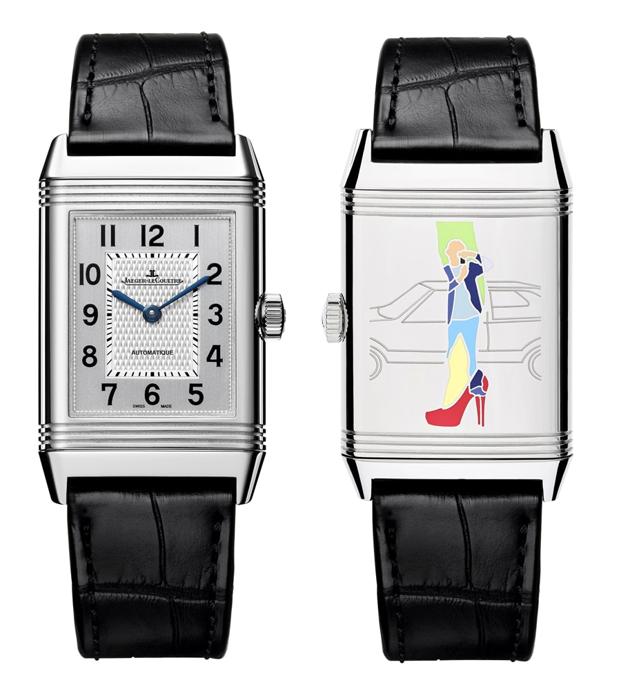 "Jaeger-LeCoultre: Reverso meets Pop Art Motiv ""High Heels"""