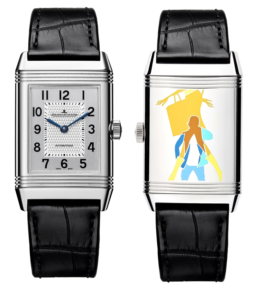 "Jaeger-LeCoultre: Reverso meets Pop Art Motiv ""Time for Shopping"""
