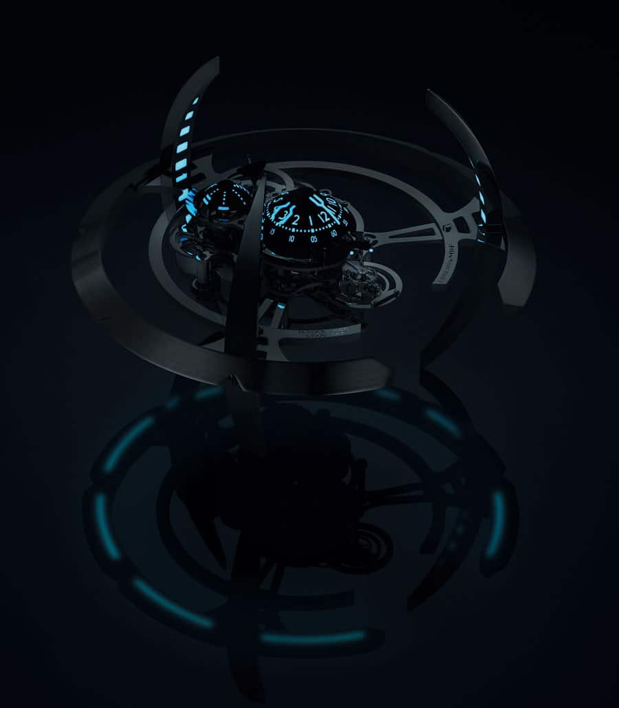 MB&F Starfleet Machine Black Badger