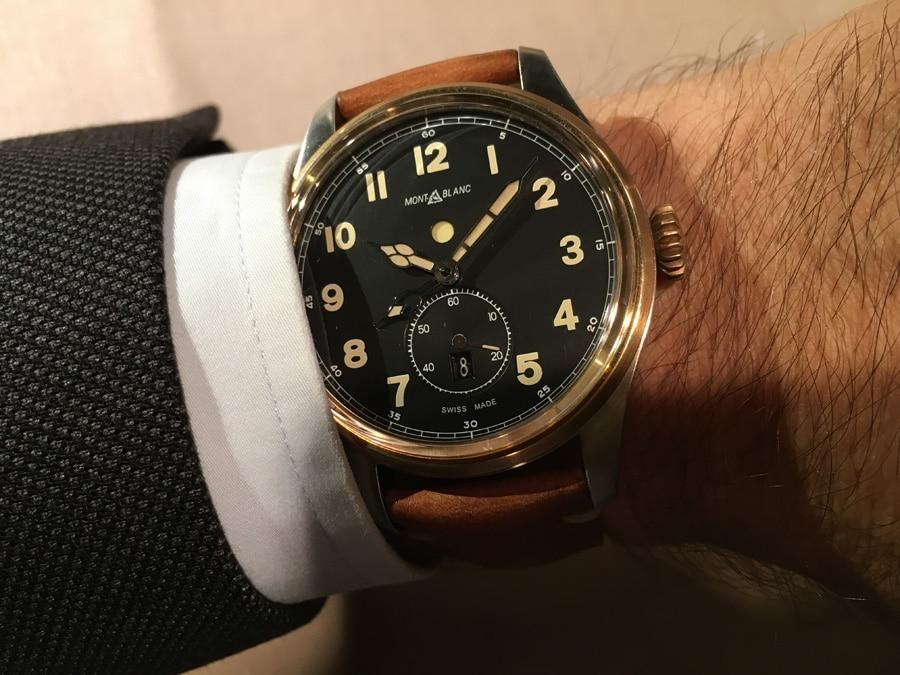 Montblanc: 1858 Automatic Dual Time Wristshot