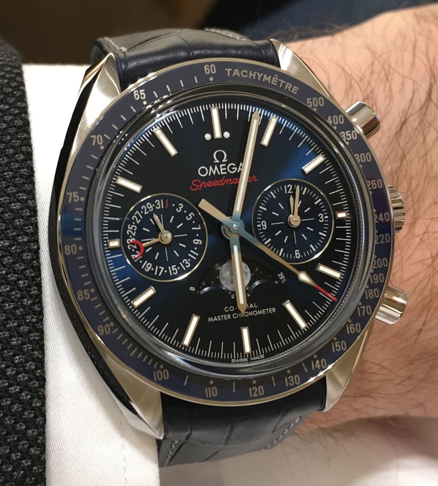 Omega: Speedmaster Moonphase Master Chronometer