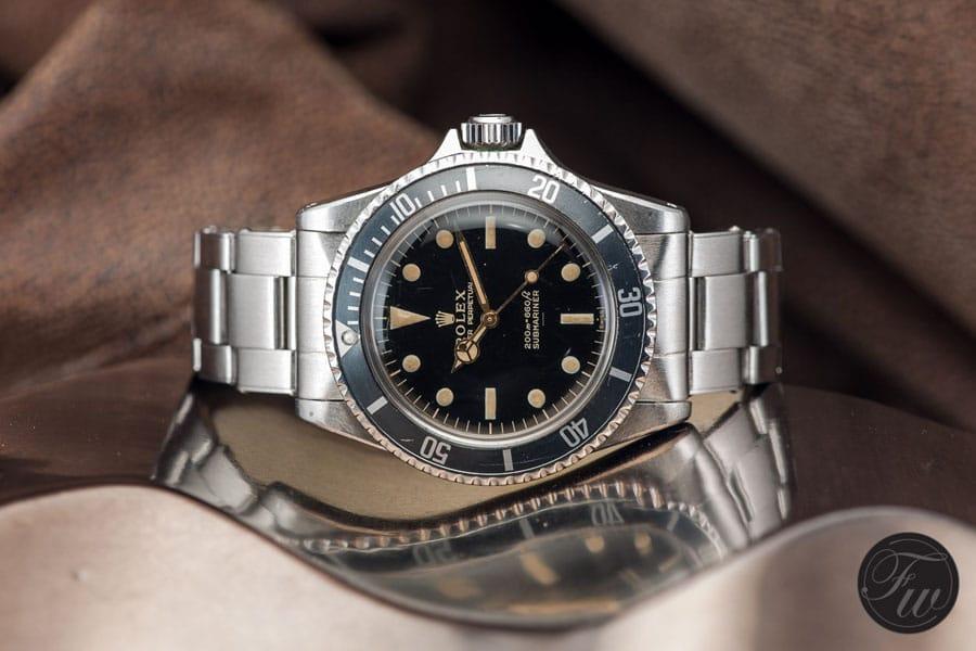 Rolex: Vintage Submariner Referenz 5513