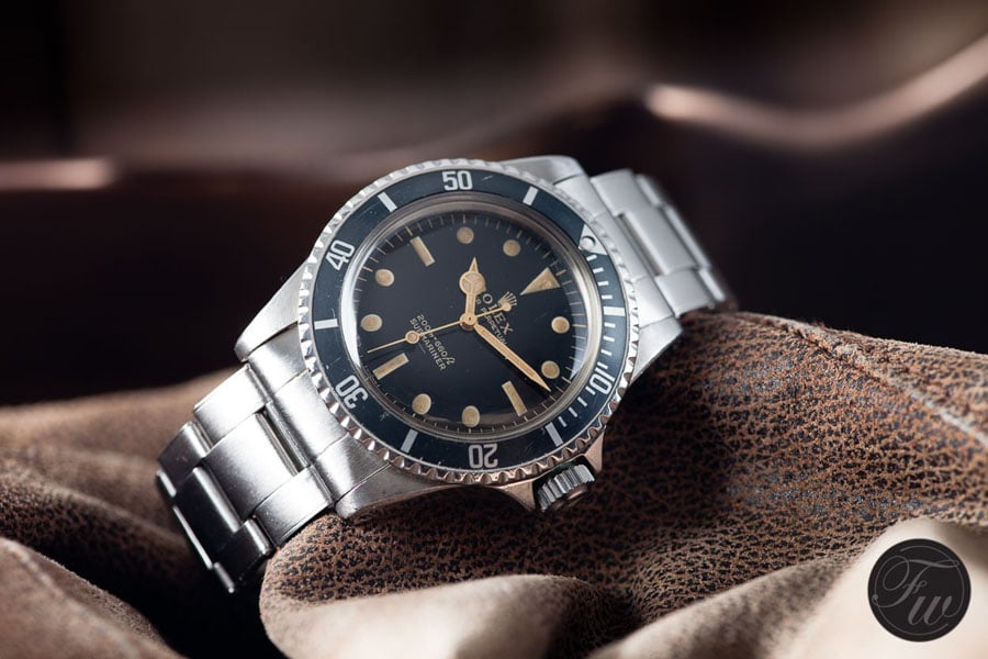 Rolex: Vintage Submariner Referenz 5513