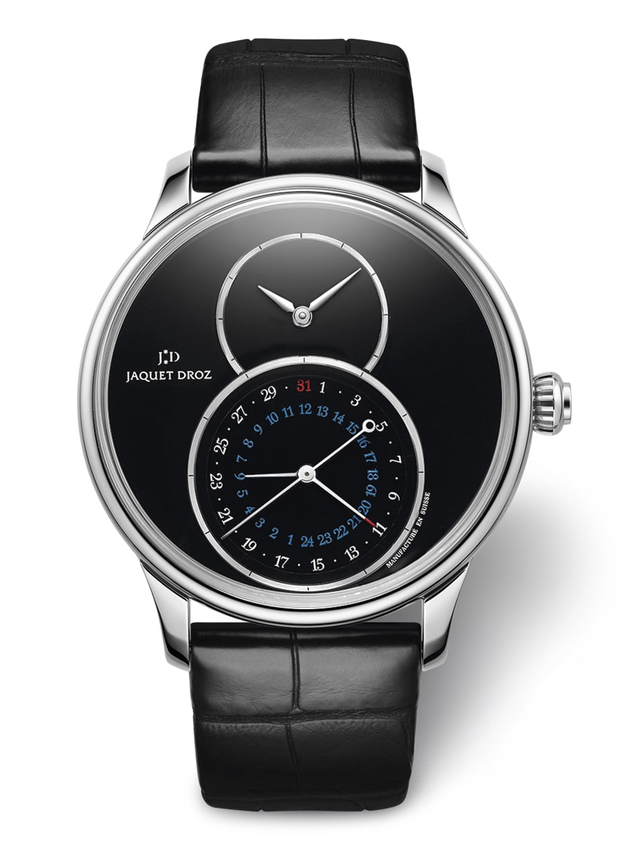Jaquet Droz: Grande Seconde Dual Time Onyx