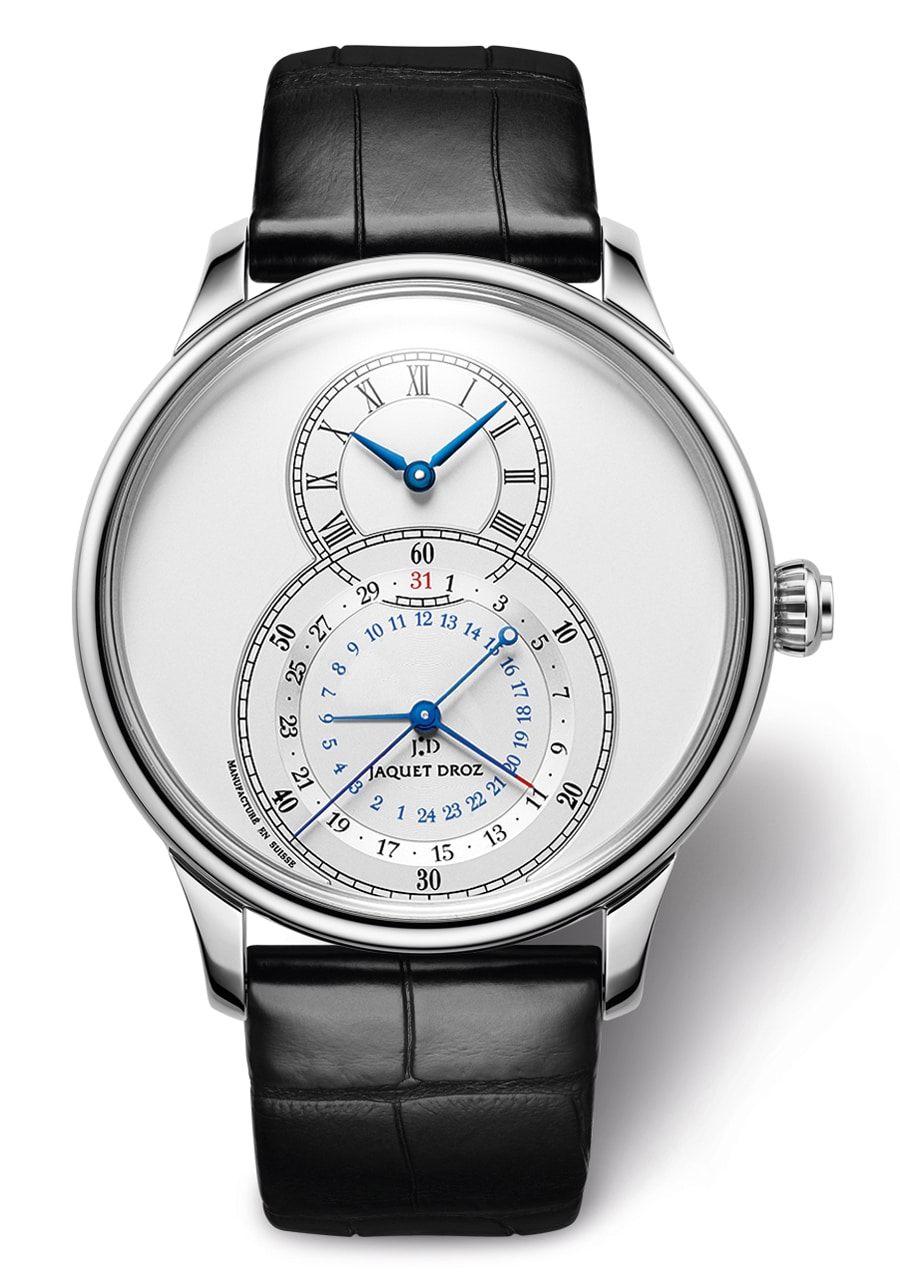 Jaquet Droz: Grande Seconde Dual Time Silver