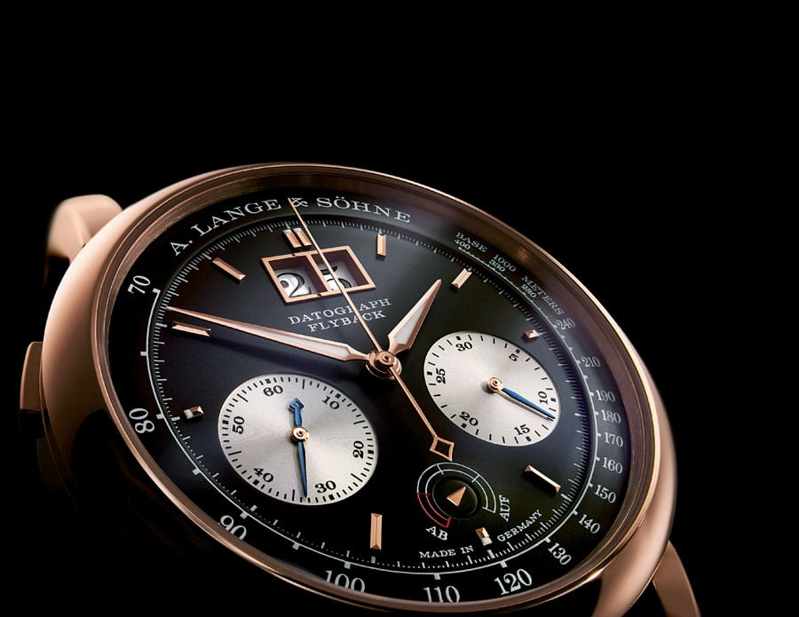 A. Lange & Söhne: Datograph Auf/Ab in Rotgold