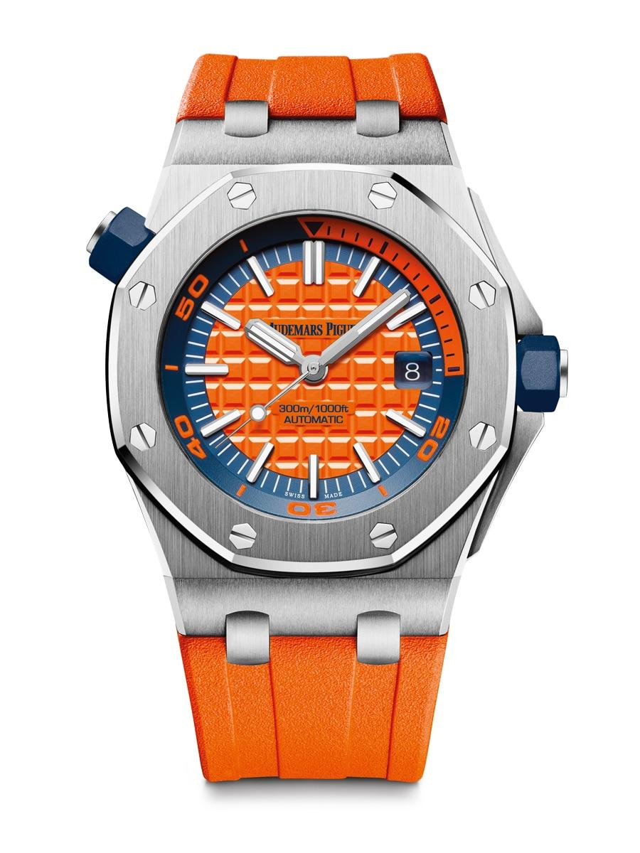 Audemars Piguet bringt Farbe ins Spiel: die Royal Oak Offshore Diver in Orange