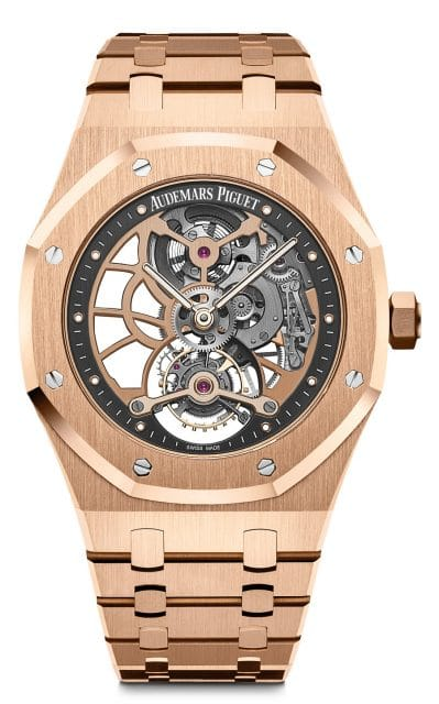 Audemars Piguet: Royal Oak Tourbillon Extra-Thin Openworked