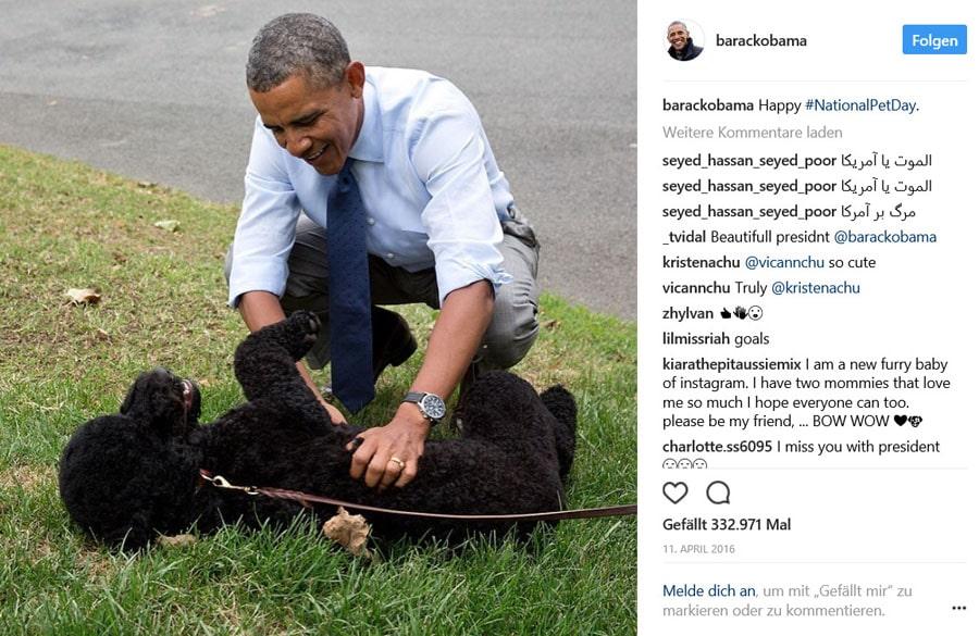 Barack Obama und Jorg Gray