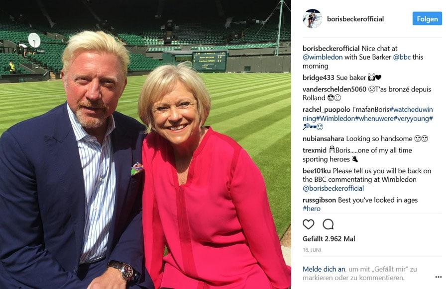 Boris Becker und Panerai
