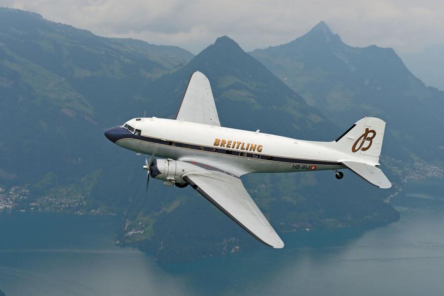 Die Breitling DC-3