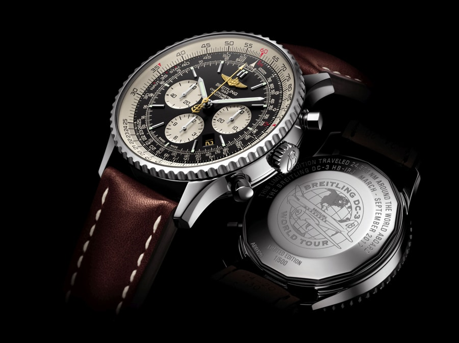 Breitling Navitimer DC-3 World Tour