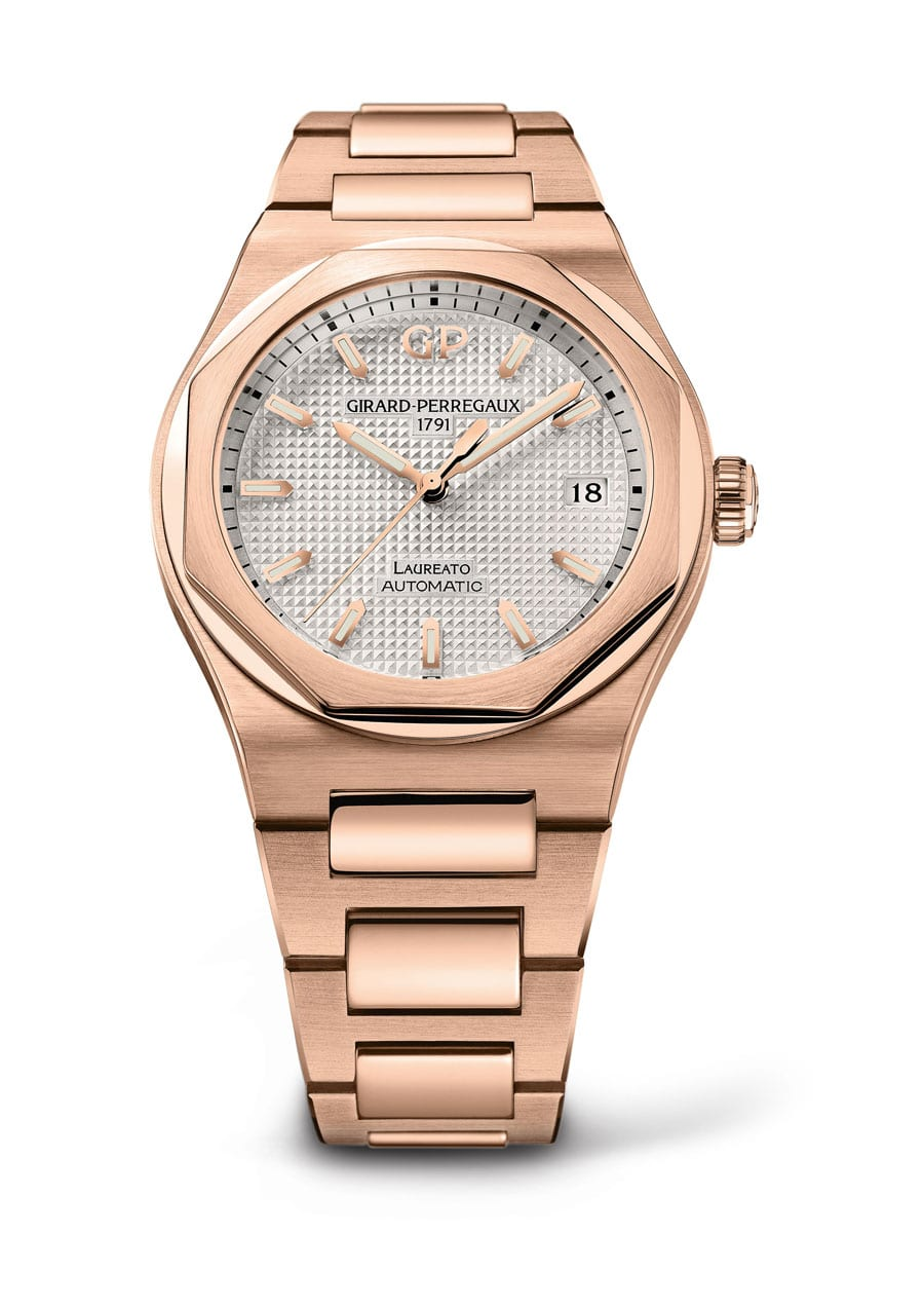 Girard-Perregaux: Laureato in Gold