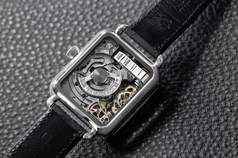 H. Moser & Cie: Swiss Alp Watch Minute Retrograde mit Automatikwerk HL2.0