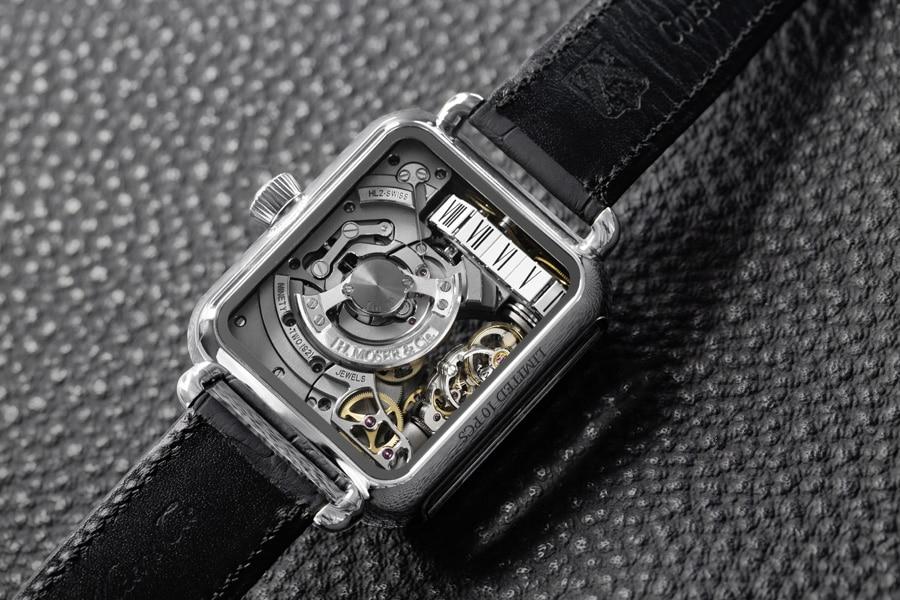 H. Moser & Cie: Swiss Alp Watch Minute Retrograde mit Automatikwerk HL2.0
