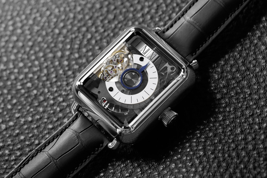 H. Moser & Cie: Swiss Alp Watch Minute Retrograde