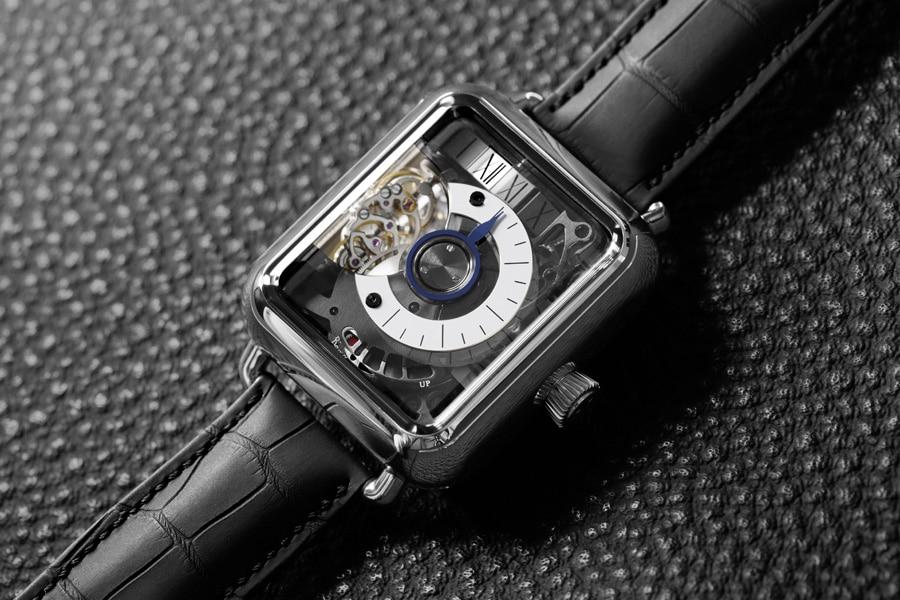 H. Moser & Cie: Swiss Alp Watch Minute Retrograde