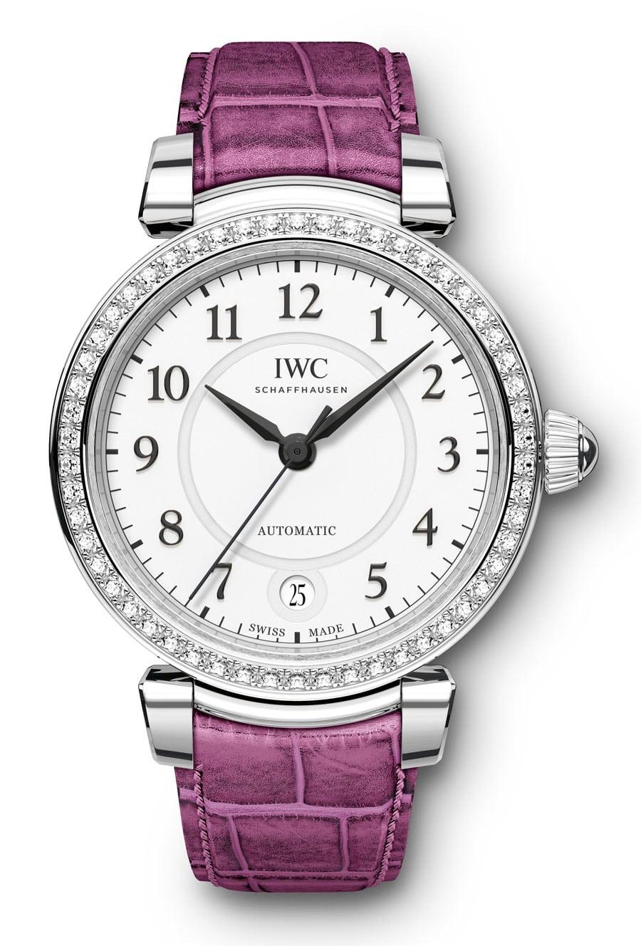 Edelstahl mit Diamanten: IWC Da Vinci Automatic 36, Referenz IW458308