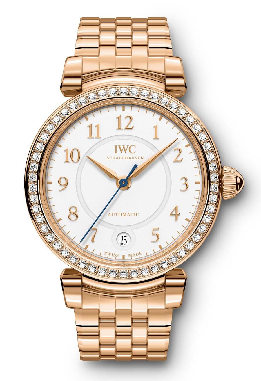 Rotgold und Diamanten: IWC Da Vinci Automatic 36, Referenz IW458310