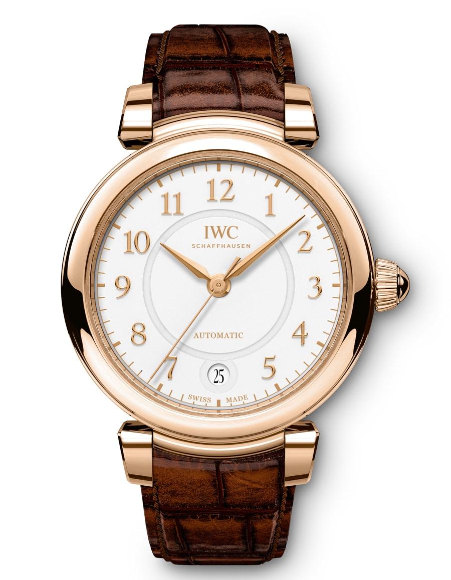 Die IWC Da Vinci Automatic 36 in Rotgold