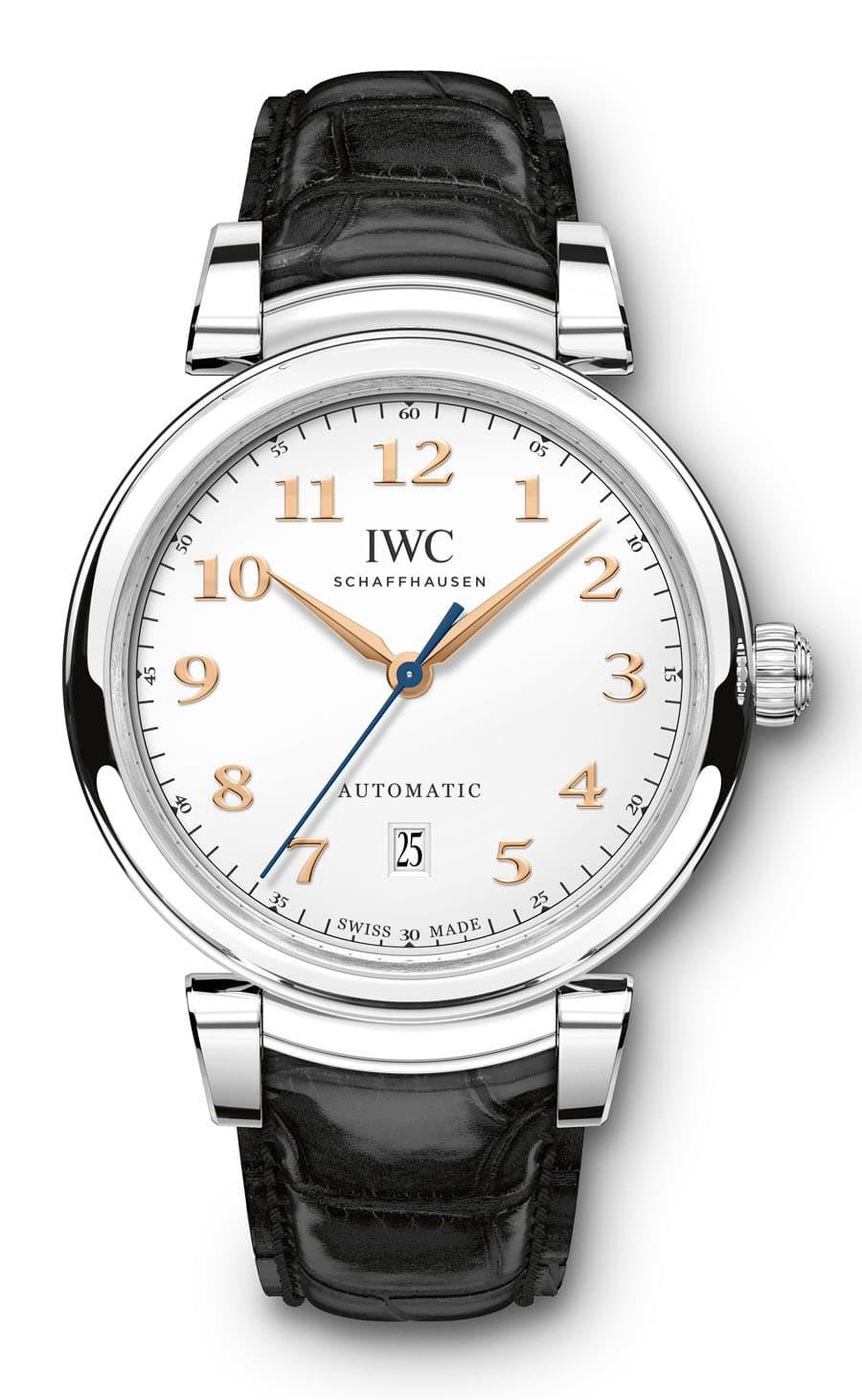 IWC: Da Vinci Automatic mit Lederband