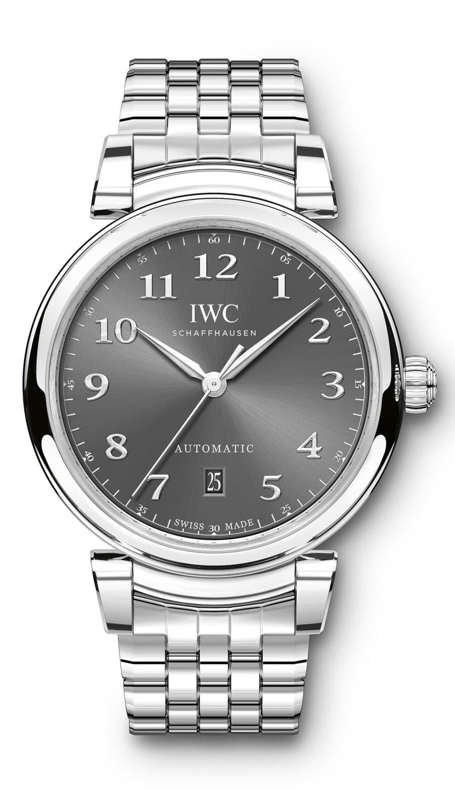 IWC: Da Vinci Automatic mit Stahlband