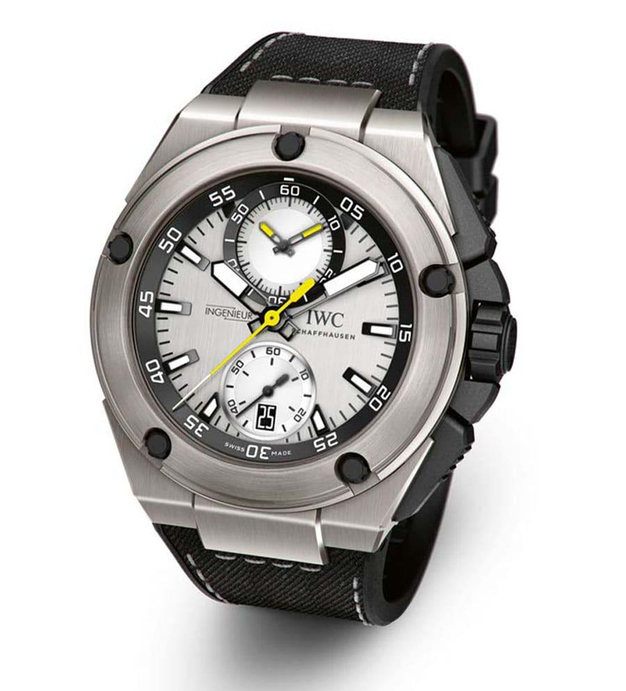 IWC: Ingenieur Chronograph Edition Nico Rosberg mit Titangehäuse