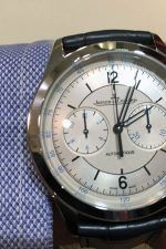 Jaeger-LeCoultre: Wristshot des Master Chronographen