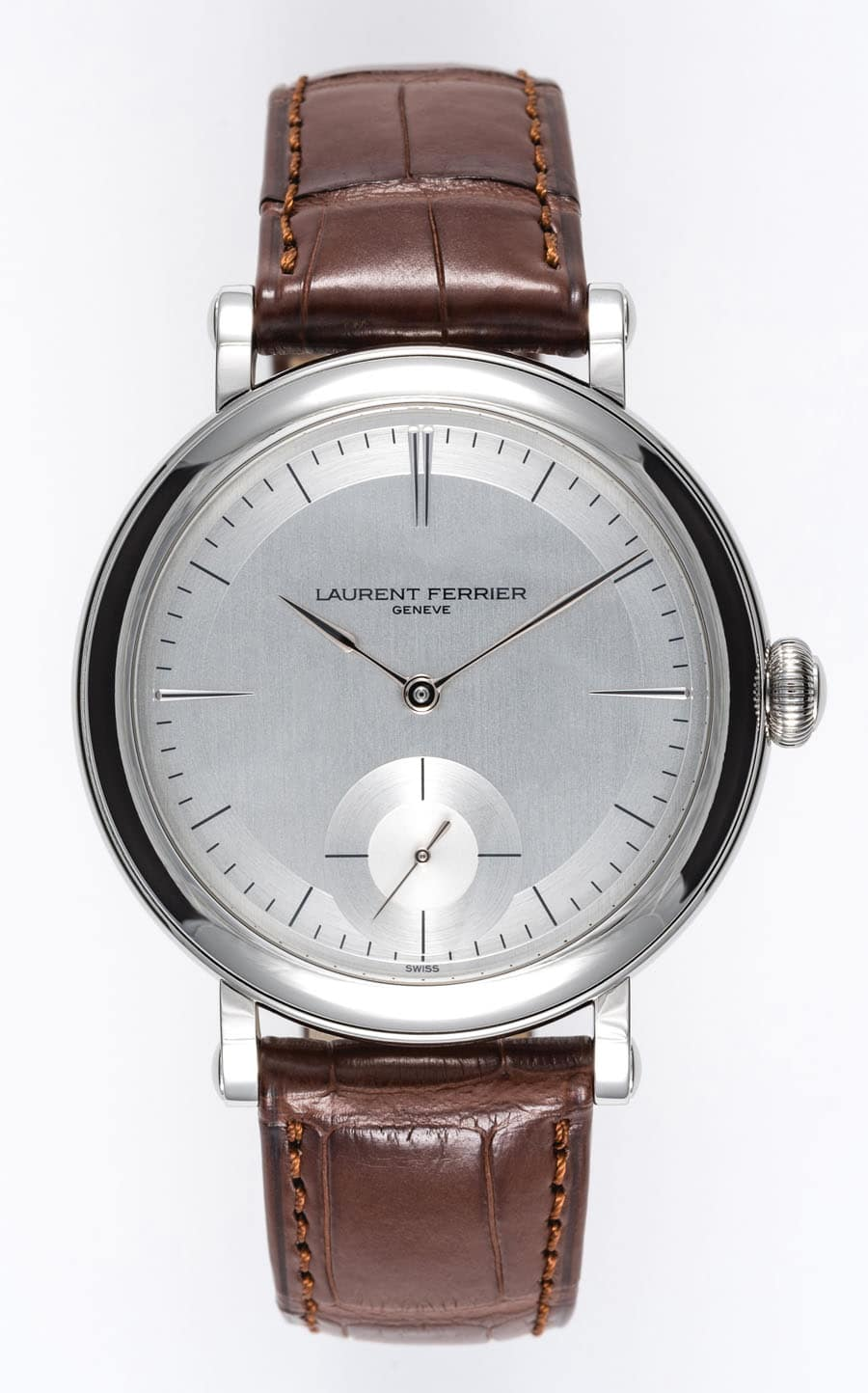 "Laurent Ferrier: Galet Micro Rotor ""Montre Ecole"""