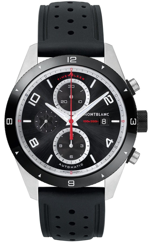 Aus der rundumerneuerten Line TimeWalker von Montblanc: der TimeWalker Chronograph Automatic