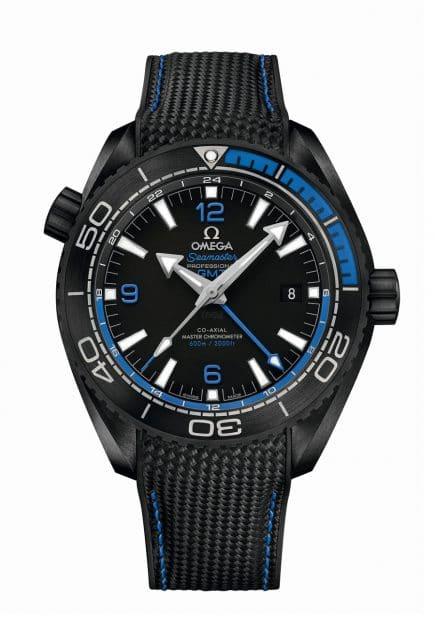 Omega: Seamaster Planet Ocean Deep Black