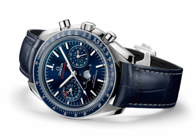 Chronos testet die Omega Speedmaster Moonwatch Co-Axial Master Chronometer Moonphase