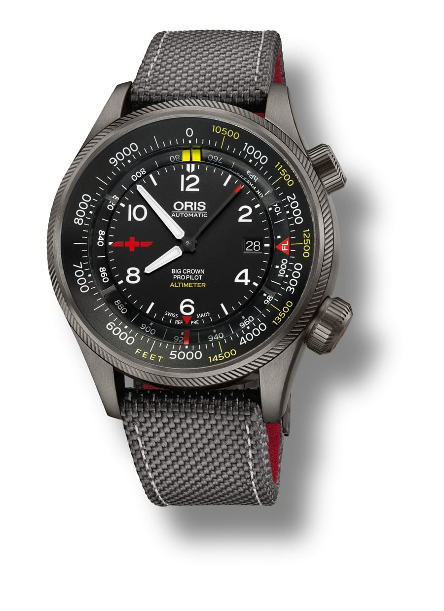 Oris: Big Crown ProPilot Altimeter Rega Limited Edition