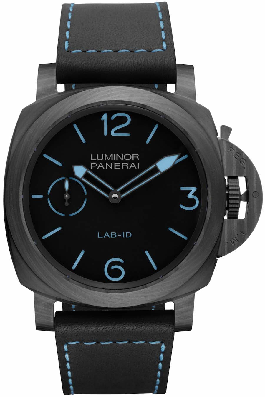 Panerai: LAB-ID Luminor 1950 Carbotech 3 Days 49 Millimeter PAM00700